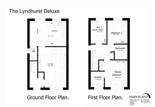 lyndhurst floorplan houses for sale in Skegness property for sale in skegness