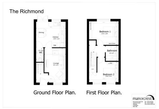 richmond floorplan houses for sale in Skegness property for sale in skegness