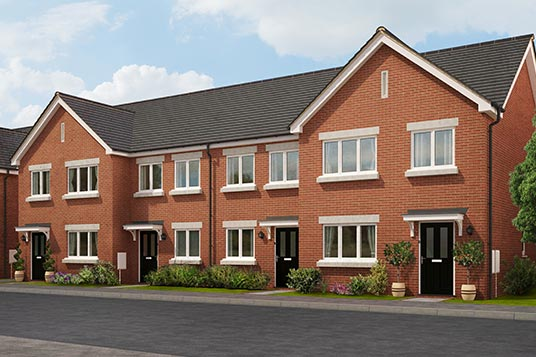 Lyndhurst cgi houses for sale in Skegness and property for sale in Skegness