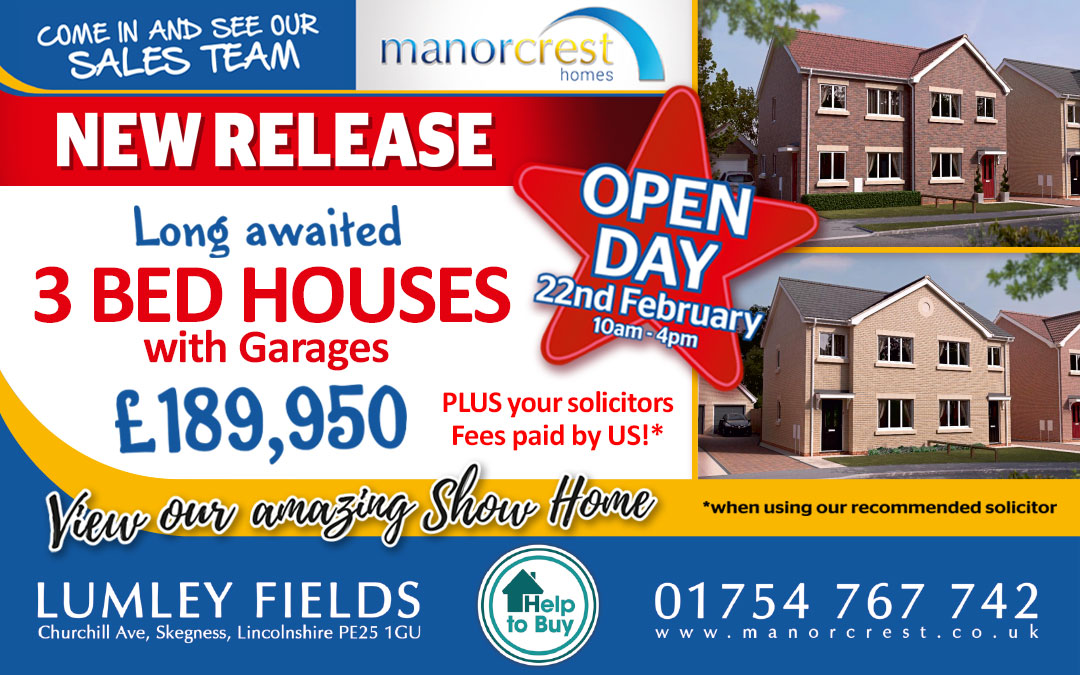 3 Bedroom Houses with Garage – NOW AVAILABLE!